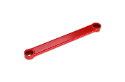 FKX RACING REAR LOWER TIE BAR (RED) 06-15 HONDA CIVIC