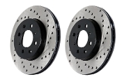 STOPTECH SPORTS DRILLED ROTORS, 12-15 HONDA CIVIC SI