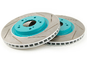 PROJECT MU SLOTTED ROTORS, 12-14 HONDA CIVIC SI