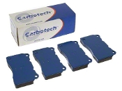 CARBOTECH XP12 BRAKE PADS, 12-16 PORSCHE 991 CARRERA S (FRONT)