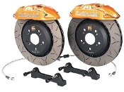 BUDDY CLUB 4-POT BBK BIG BRAKE KIT (GOLD), 06-11 HONDA CIVIC SI