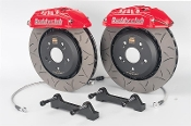 BUDDY CLUB 4-POT BBK BIG BRAKE KIT (RED), 06-11 HONDA CIVIC SI