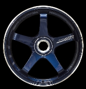 "20"" ADVAN GT CENTERLOCK PORSCHE FORGED WHEELS, BLUE (SET OF 4)"