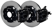 WILWOOD BBK REAR BRAKE KIT (BLACK), 12-15 HONDA CIVIC SI