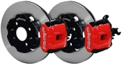 WILWOOD BBK REAR BRAKE KIT (RED), 12-15 HONDA CIVIC SI