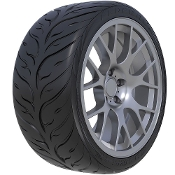 215/45-17 FEDERAL 595 RS-RR R-COMPOUND RACING TIRES (SET OF 4)