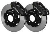 WILWOOD BBK FRONT RACING BRAKE KIT (BLACK), 12-15 HONDA CIVIC SI