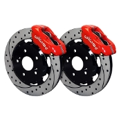 WILWOOD BBK FRONT RACING BRAKE KIT (RED), 12-15 HONDA CIVIC SI