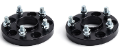 FKX RACING HUB-CENTRIC BLACK SPACERS (20MM) 06-15 HONDA CIVIC