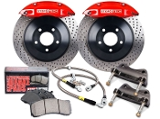 STOPTECH BBK BIG BRAKE KIT (RED) 12-15 9TH GEN CIVIC FB6/FG4